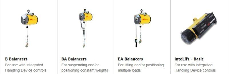 Balanceadores pneumáticos